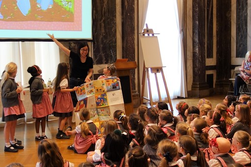 Author Grace Lin Visits 91st Street